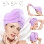 HAIRGLOW® Πετσέτα μαλλιών γρήγορου στεγνώματος (1 + 1 ΔΩΡΕΑΝ)