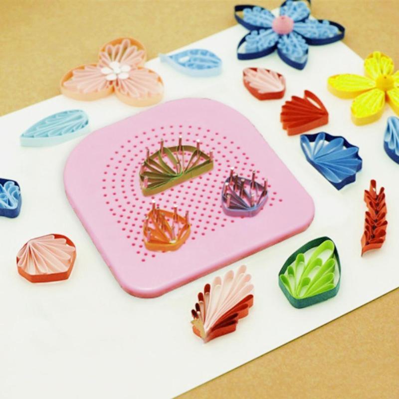 Πίνακας με καρφίτσες για Quilling (έργο τέχνης από λωρίδες χαρτιού)
