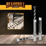 BEARDRILL ®️ Σετ Τρυπανιού για Τετράγωνες Τρύπες (σετ 4 τεμαχιών)