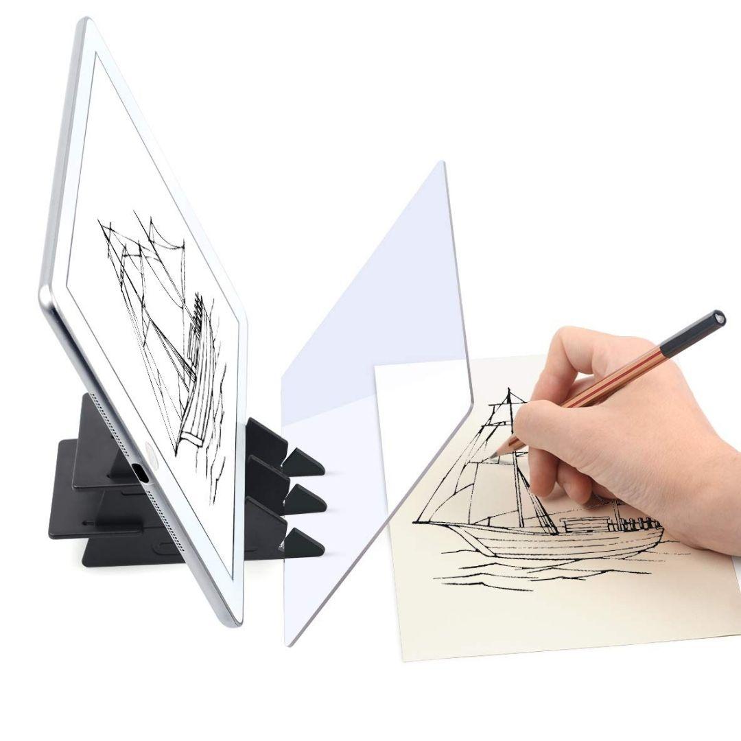 M DRAVE® Οπτική Βάση Ζωγραφικής Καθρέπτης