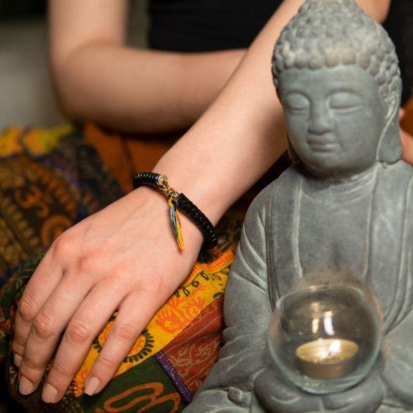 Θιβετιανό Βραχιόλι Βούδα