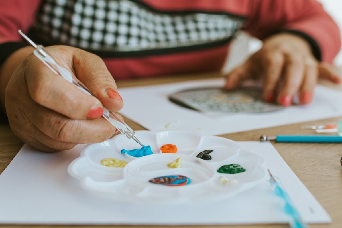 Σετ ζωγραφικής κουκκίδων