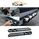 DRIVA TUNE® Αυτοκόλλητο σωλήνα εξάτμισης σπορ αυτοκινήτου